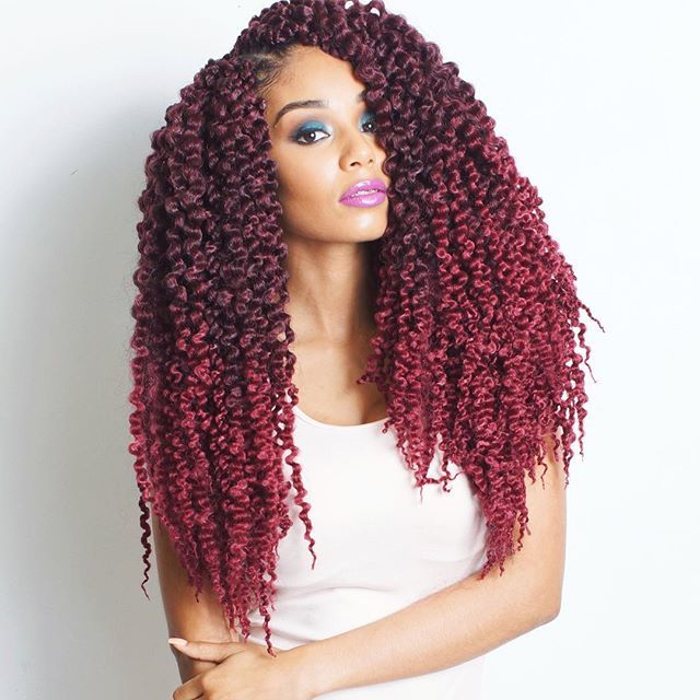 18 Afro Twist Marley Braiding Hair Extension New Balance Crochet Curly