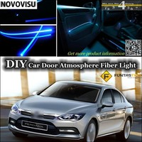 For Proton Perdana Replacement Interior Ambient Light Tuning Atmosphere Fiber Optic Band Lights Inside Door Panel