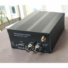 GPSDO, GPS Relógio 10M Freqüência Tempo de Referência com Display LCD