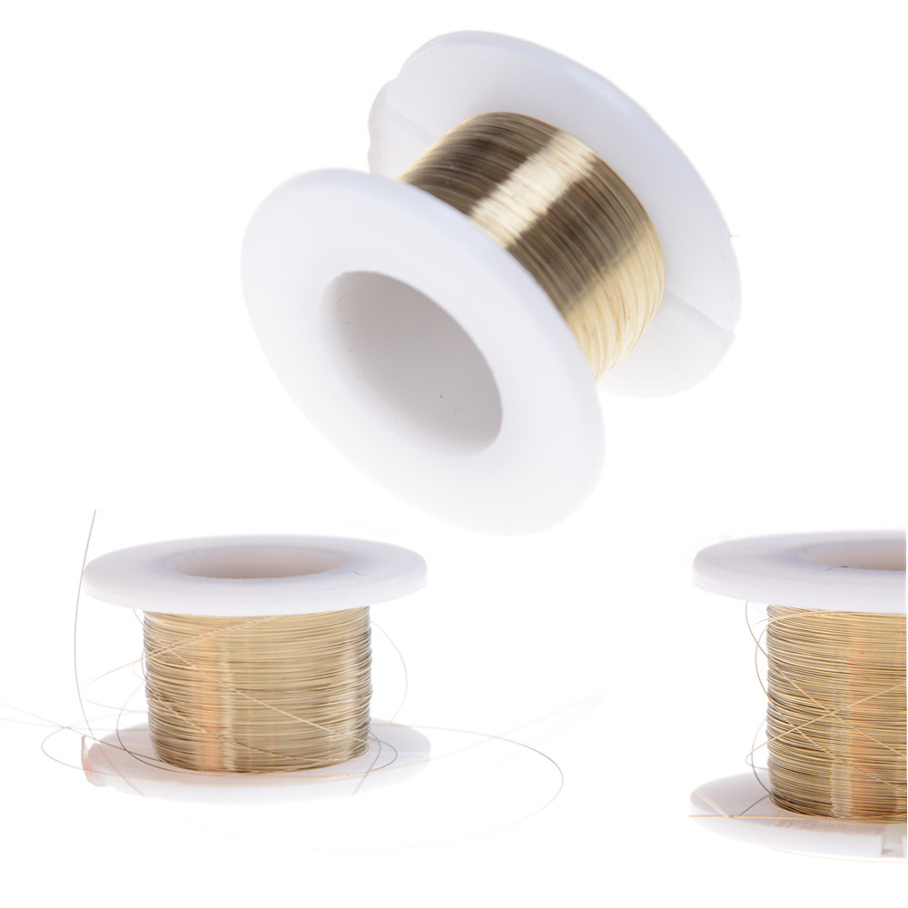 0.1mm*100M Cutting Wire Molybdenum Cutting Wire Cutting Wire Line Splitter LCD Screen Gold For Separate For All Cellphones