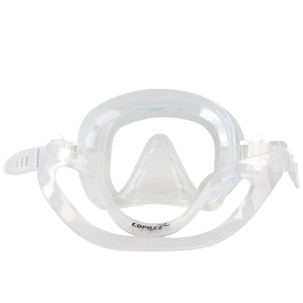 Copozz Brand Professional Skuba Diving Mask Glasögon Wide Vision - Vattensporter - Foto 4
