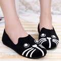 2017 summer low women's shoes pedal foot wrapping shoes shallow mouth flat heel female breathable shoes for women size 35-40