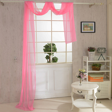 Newest 10 Colors New Valance Features Color Palette For Living Room Bedroom  Window(China)