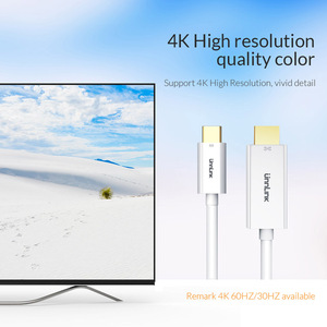 Image 5 - Unnlink USB C to HDMI Cable Type C to HDMI 2.0 UHD4K@60Hz Thunderbolt 3 for MacBook Galaxy S10/S9/S8 Dex Mate 20 P20 P30 Laptop