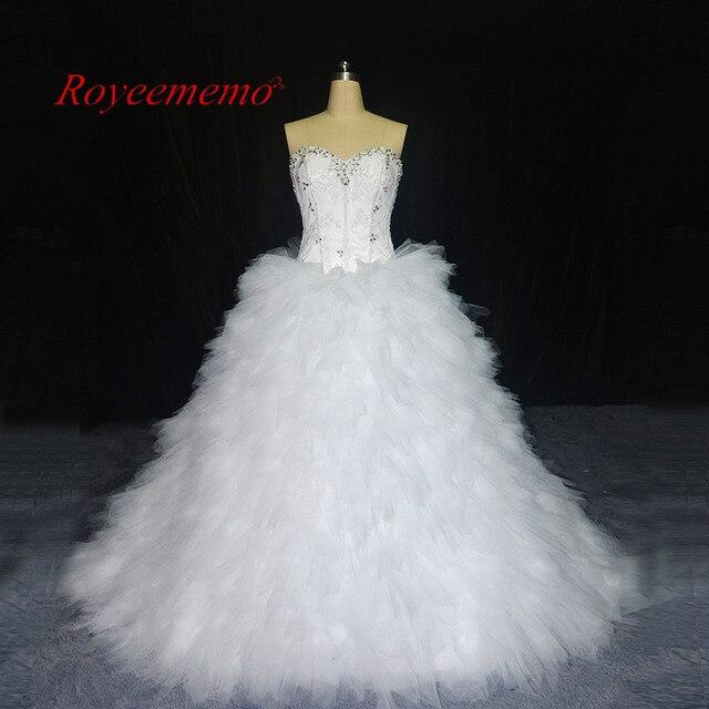 2017 neue Design Brautkleider vestidos de novia brautkleid nach maß ...