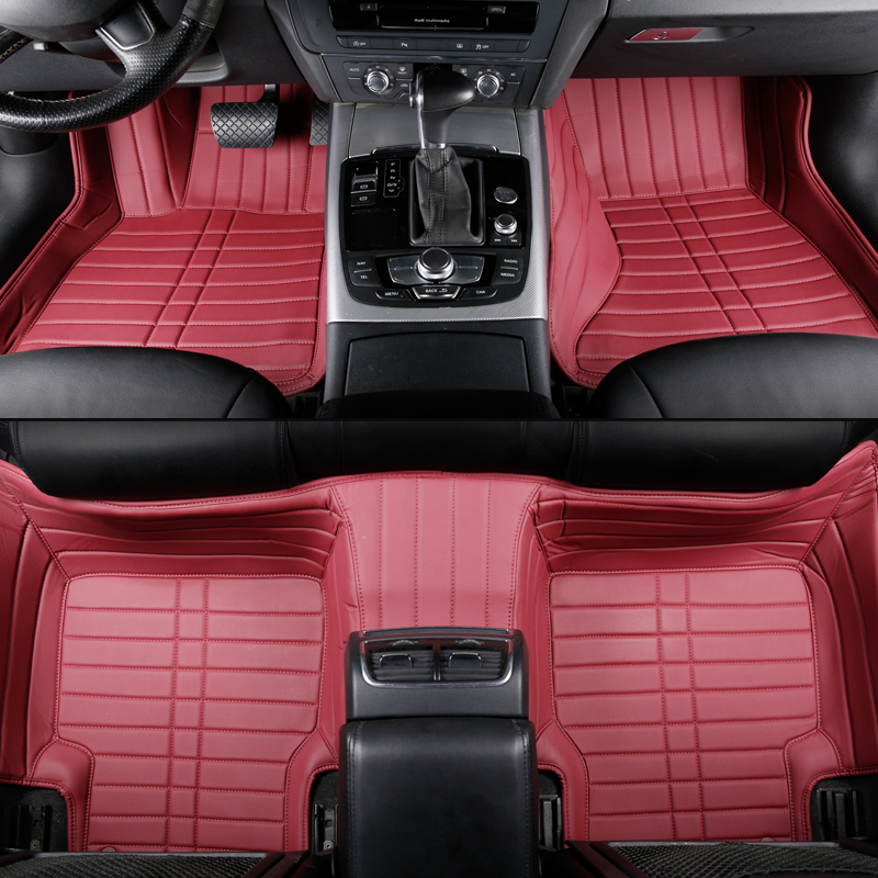 Tapis de sol de voiture sur mesure pour Honda accord Civic CRV ville HRV CR-Z élément de croix Vezel ajustement accessoires de voiture