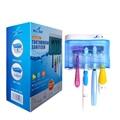 UV Escova De Dentes Esterilizador Pacote Familiar de Inteligência Alternar Automaticamente Saneantes Matar Germe & Bactérias até 99.9% YCSG-103AYW