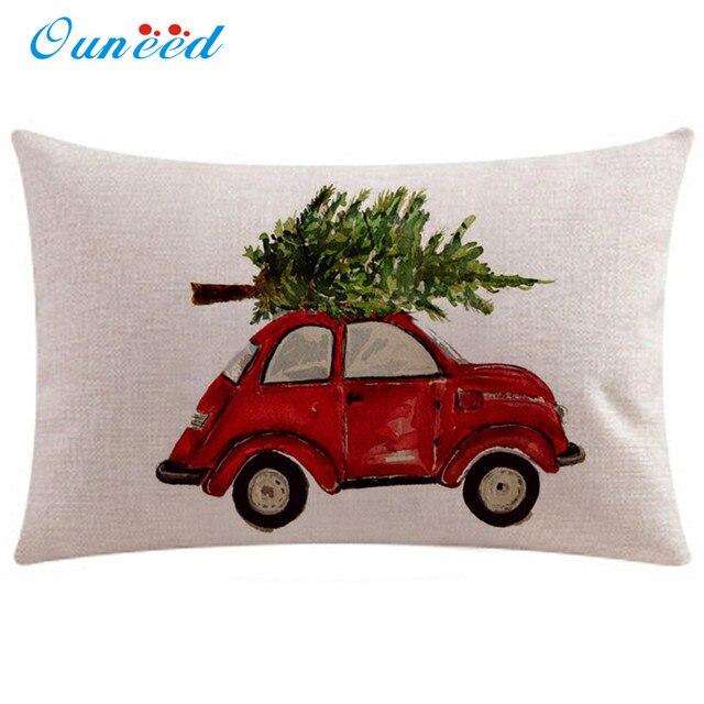 50x30 cm Rettangolo Fodere per Cuscini Vintage Di Natale cuscini decorativi caso