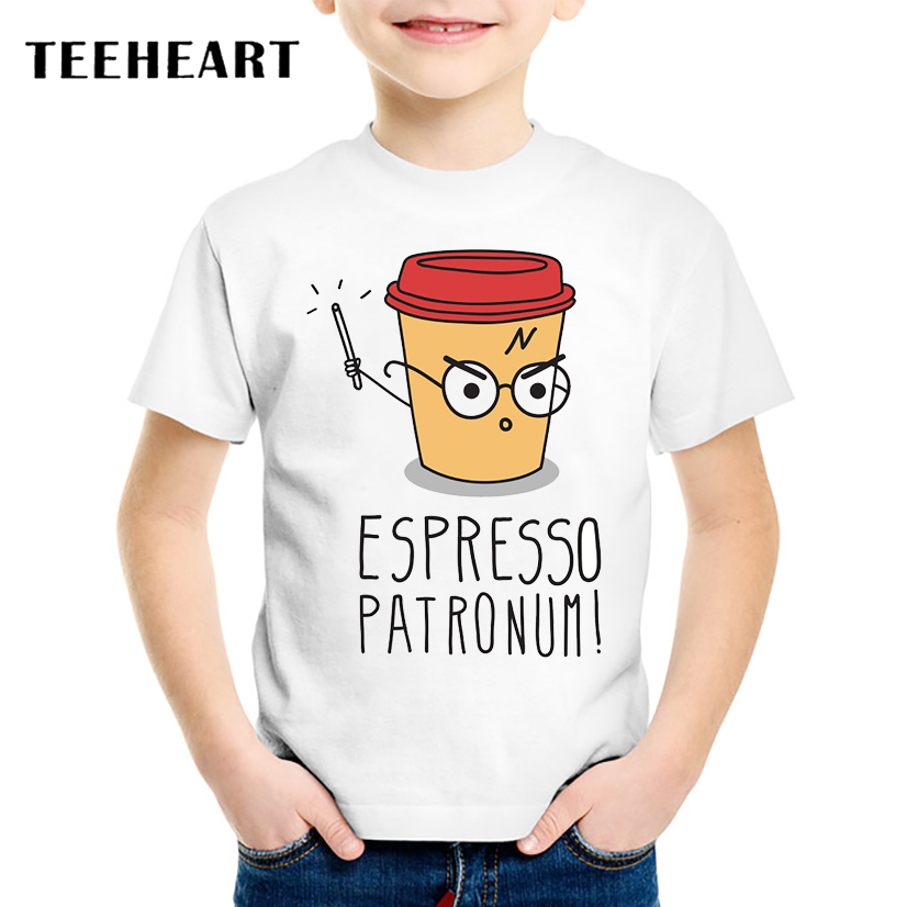 Modal, Clothing, Boys, Children, T-Shirts, ESPRESSO