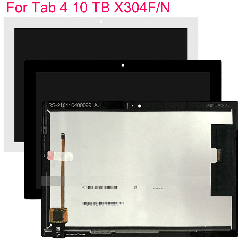 10.1 for for para lenovo tab 4x304 TB-X304L TB-X304F TB-X304N tb x304 display lcd tela de toque digitador assembléia sensor tab 4x304