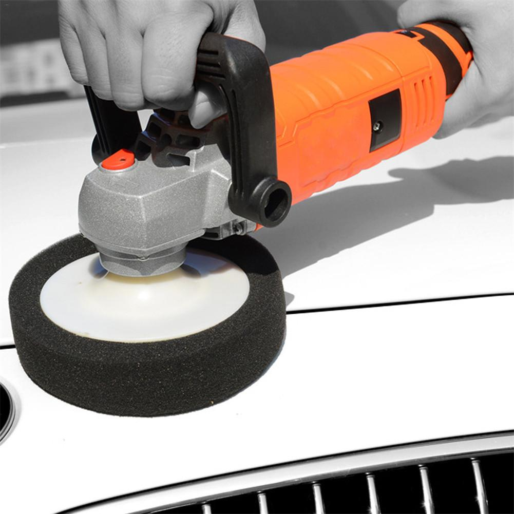 1580W 220V Grinder Mini Polishing Machine Car Polisher Sanding Machine Orbit Polish Adjustable Speed Sanding Waxing Power Tools in Gloss Seal for Car Paints from Automobiles Motorcycles