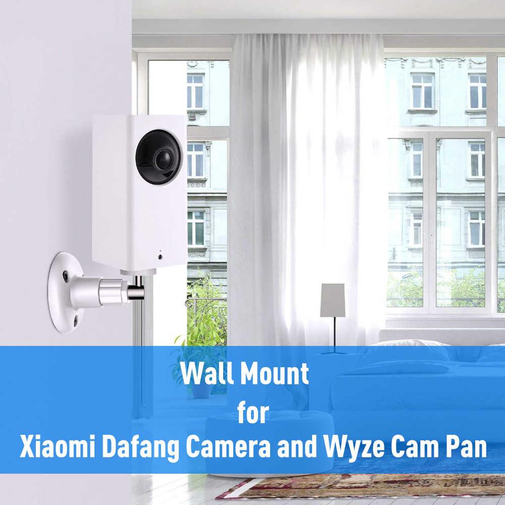 For XiaoMi Dafang camera and Wyze Cam Pan wall mount bracket