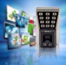 Free shipping IP65 waterproof metal case  fingerprint sensor access control and time attendance