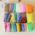 Отличное Качество 36 Цветов Пластилин Мягкий Свет магнитного Polymer Clay Модель Магии слизи И слизь Пластилин Для Детей