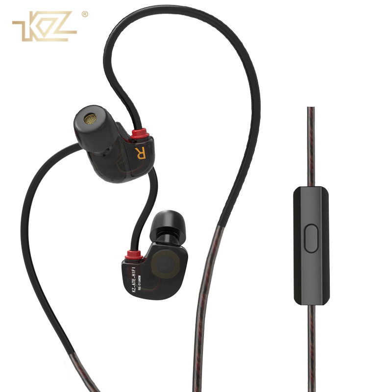 KZ Sport Running Earphones Professional Music HiFi In Ear Earphone With Microphone Stereo Bass for Phone Xiaomi Fone De Ouvido