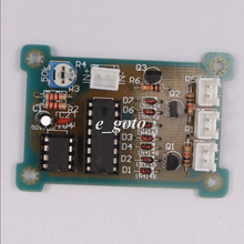 CD4017 + NE555 детонации вспышки света DIY Kit светодиодные DIY свет электронная схема