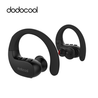 Dodocool Sports Bluetooth Earphone Stereo Wireless Headphones IPX5 Bluetooth Headset With Mic Support Siri Multipoint Connection