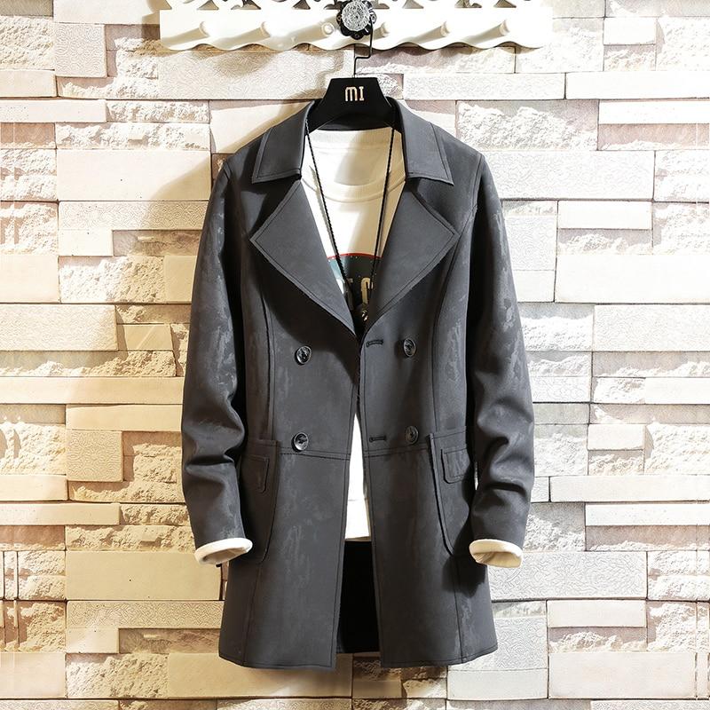KOLMAKOV 2019 New Autumn Mens   Trench   Coats Men's Top Quality Jackets Waterproof Windbreakers Coat homme Slim Fit Oversized M-5XL