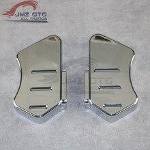 9c804340dcb9 Para HONDA VTX1800 2002, 2003, 2004, 2005, 2006, 2007, 2008 ABS de plástico  cromado moto frente arena placa cubierta decorativa