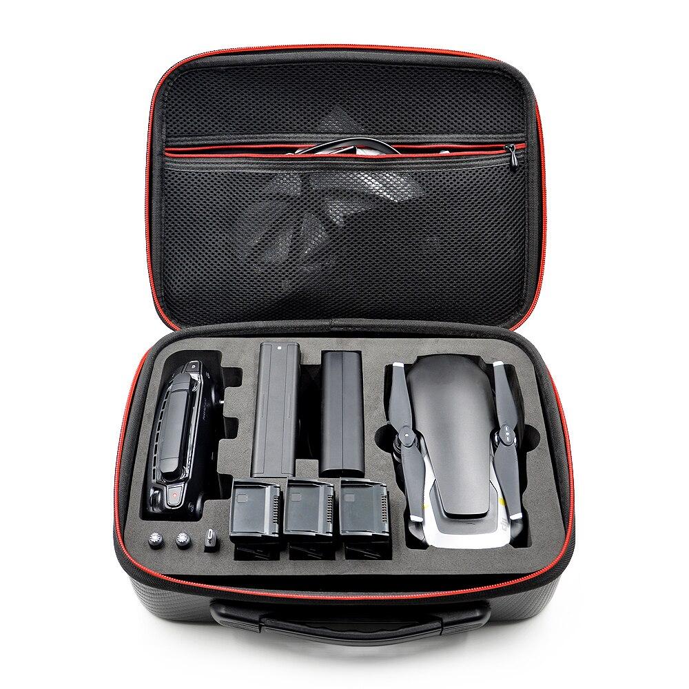 Novo para dji mavic ar caso caixa mavic saco de ar drone corpo/baterias/controlador carry caso bolsa acessórios