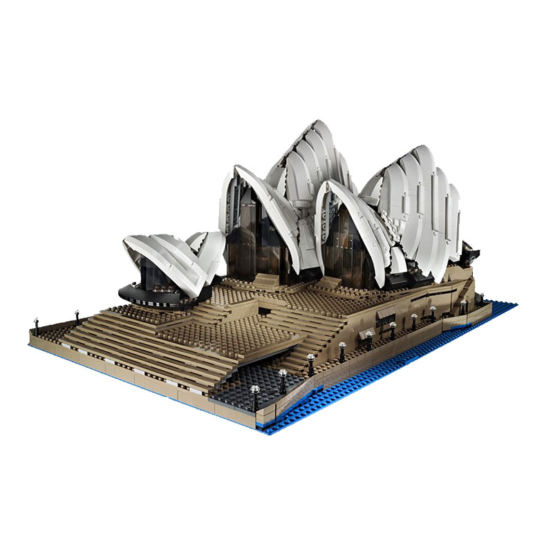 Lepin Creator Expert 17003 2989PCS Sydney Opera House Sets Compatible 10234 Model Building Kits Blocks Bricks Toys For Children lepin 17003 2989pcs sydney opera house model building kits blocks bricks toys compatible legoed 10222