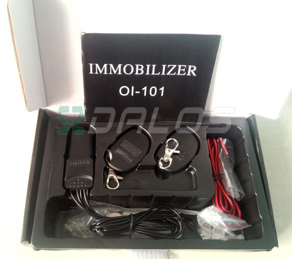 car immobilizer High quality 12V wireless car immobilizer 2 4GHz RFID relay design for car anti