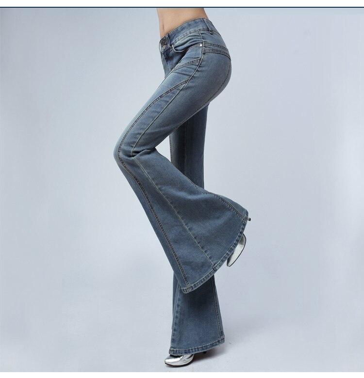 Винтажные джинсы для женщин в стиле бойфренд Высокая талия Повседневный стиль бархатные дамские брюки зимние теплые джинсы для мам размера... - 2