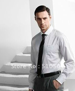 Wholesale design Cotton white collar high quality Men Shirt Custom Made Men Shirt Business Casual shirt Free shipping