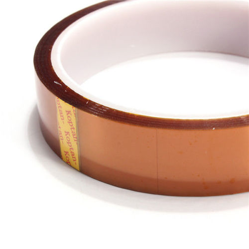 280C High quality 20mm 33m 100ft Adhesive Kapton Tape High Temperature Heat Resistant Polyimide for Electronic Industry 55mm x 33m 100ft kapton tape high temperature heat resistant polyimide fast ship