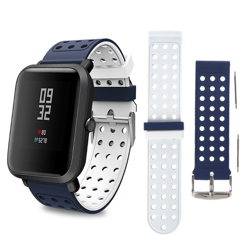 JAVRICK 20mm Silicone young Color Strap for Samsung Gear S3 for Amazfit  Pace Smart Watch gai a481edae54ff5
