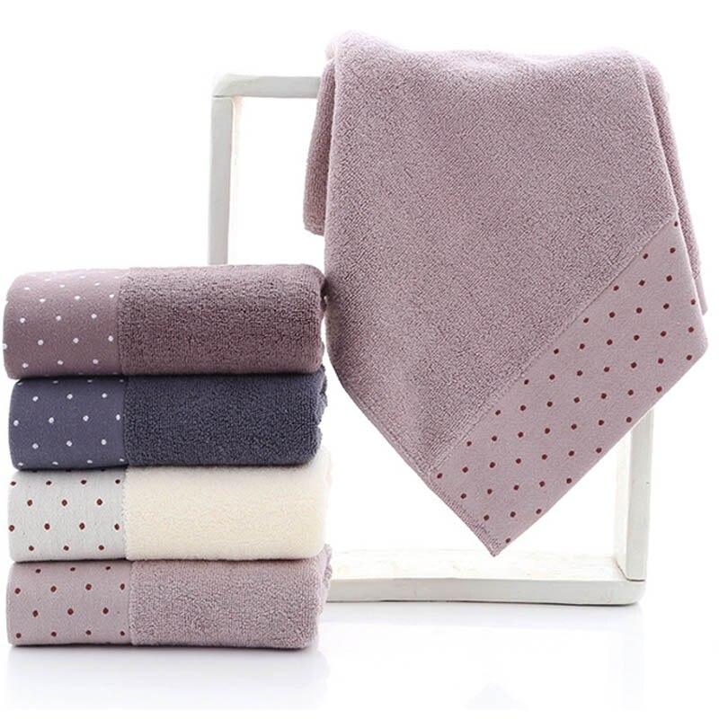 כותנה בית ניקוי כלים דוט דפוס למבוגרים מגבות יד מגבת רך מתנת מגבת אביזרי אמבטיה