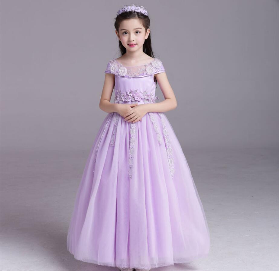 Jurken Feestjurken.Childrens Avondjurken Meisje Cinderella Jurk Formele Baby Prinses