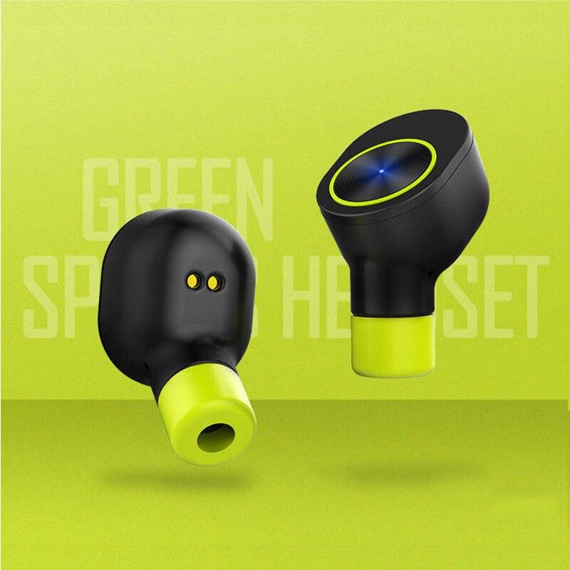 VirWir sans fil écouteur bluetooth casque sans fil intra-auriculaires avec microphone intégré à la sueur écouteurs fone de ouvido sem fio