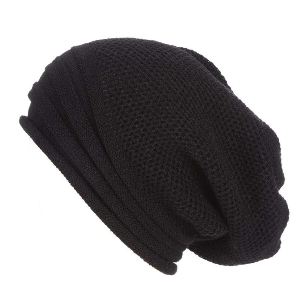 #5 DROPSHIP 2018 NEW HOT Fashion Men Women Baggy Warm Crochet Winter Wool Knit Ski Beanie Skull Slouchy Caps Hat Freeship
