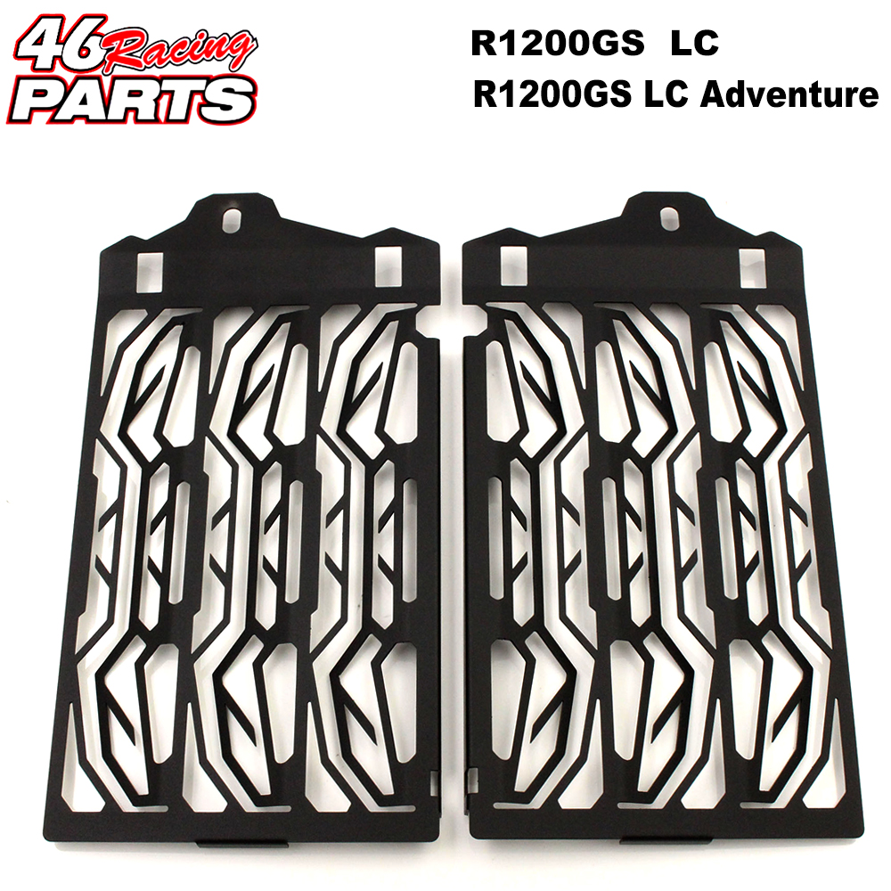 CNC Motorcycle Accessories Radiator Guard Protector Grille Grill Cover For BMW R1200GS LC /Adventure 2013-2017 Free shipping new radiator protective cover grill guard grille protector radiator grille guard cover for bmw r1200gs 13 15 r1200gs adv 14 15