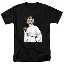250990d51e51 Funny T-Shirt Sexy Marilyn Monroe Gangster Pose Guns print Men/Women  Couples personality Design Shirt High Quality camisetas