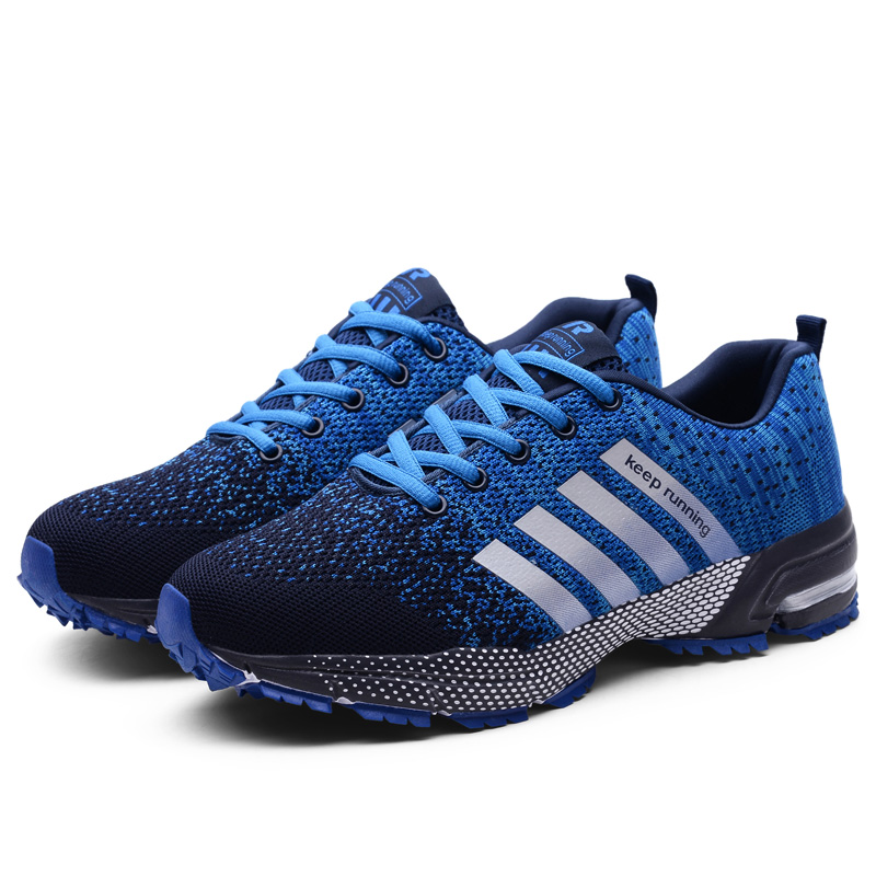 Cheapest men women running shoes Breathable lightweight sport shoes for women unisex four season sneakers outdoor