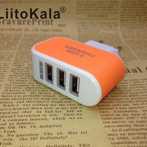 Image 4 - Сетевое зарядное устройство LiitoKala, с USB разъемом, 5 В, 3 А, 2 а, с вилкой Стандарта ЕС и Великобритании, для быстрой зарядки, для адаптера Lii100, Lii202