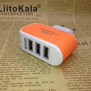 Image 4 - LiitoKala lii U3 5V 3a 2a USB Wall Chargers EU UK Plug Fast Charging Travel Charger for Lii100 Lii202 adapter