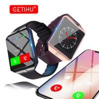 GETIHU Smart Watch DZ09 Digital Sport Touch Watch Men Bluetooth Smartwatch For Iphone Android Samsung Smart
