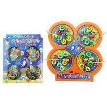 Вращающегося магнитного kid магнит обучения игрушка электрический рыбалка игрушки детские дети