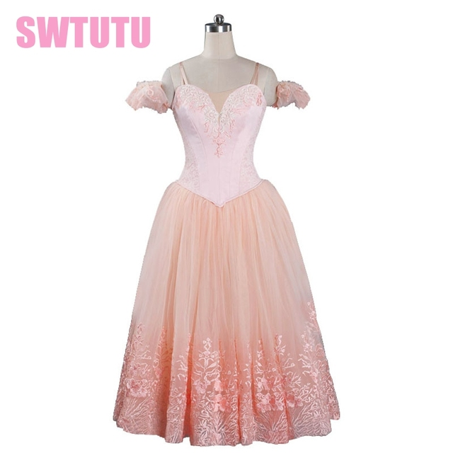 775b7ff9a New Arrival!light pink ballerina tutu dress for women giselle ballet tutu  dress costumes adult tutu ballerina dress kidsBT9089
