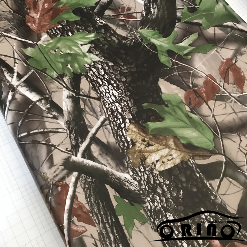 Shadow Gras Vinyl Film ORINO Realtree Auto Wrap Film Met Luchtbel Gratis Camouflage Voertuig Auto Motor Full Wrapping Folie - 5