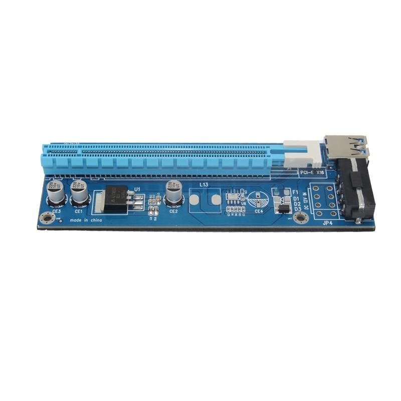 PCI-E PCI E Express 1X 16X գրաֆիկական քարտ Riser Card - Համակարգչային բաղադրիչներ - Լուսանկար 5