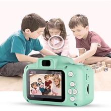 HD digital camera 2 inch 1cute cartoon Camera toys children birthday gift 800w Mini X2  child