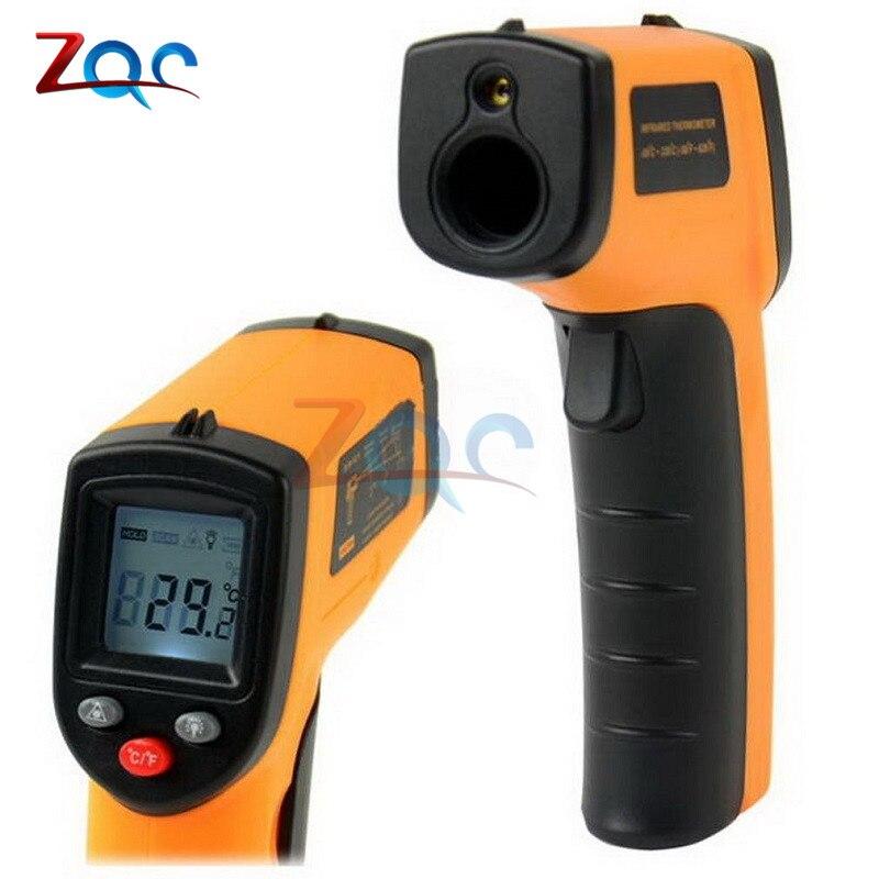 Nueva caliente laser LCD Digital ir termómetro infrarrojo GM320 temperatura Punto-50 ~ 380 grados no contacto T0.1