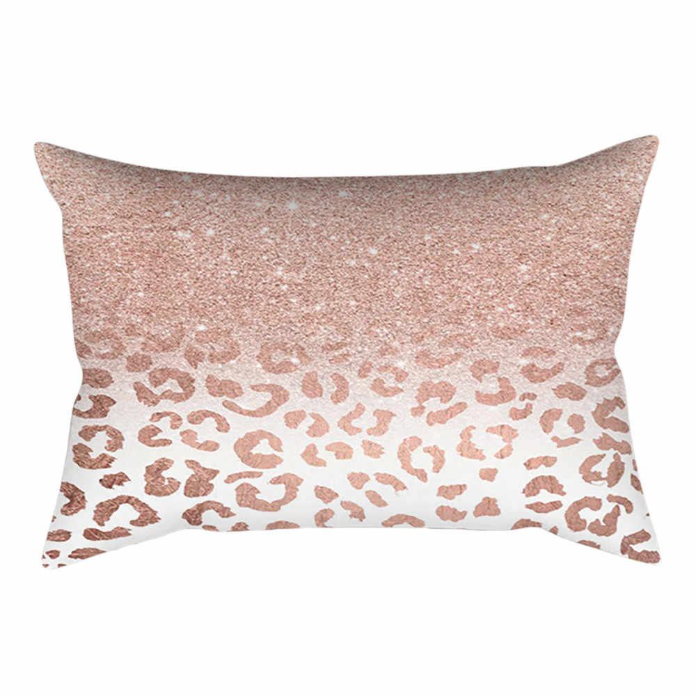 30 cm * 50 centímetros Subiu Ouro Rosa caso coussin cojines almofada Decorativa Sofá Quarto Minimalista Linho algodão Lance Fronhas