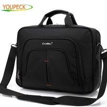 Brand 15 6 Inch Laptop bag waterproof Multi compartment Computer Case Messenger Bag Shoulder Bag Cross