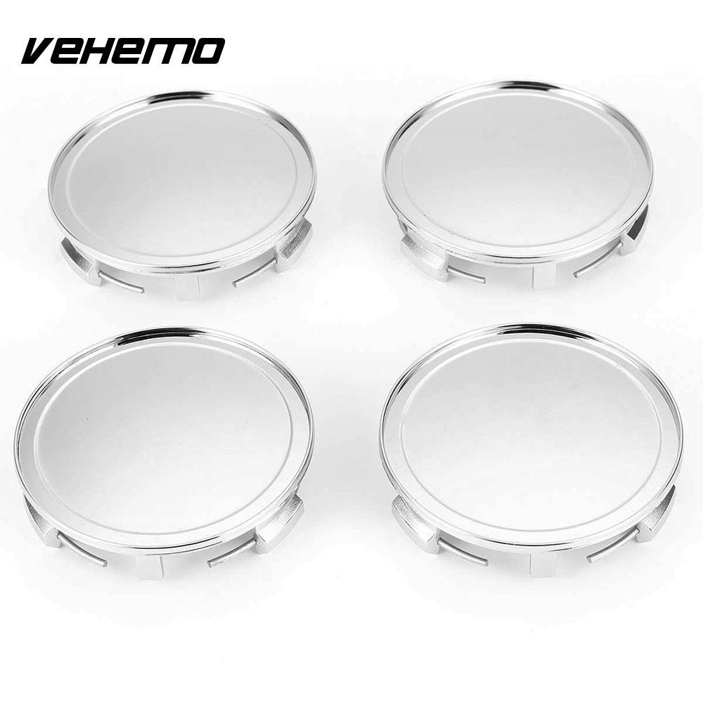 Vehemo Car 4pcs Wheel Hub Cover Vehicle Center Caps Center Cover  Replaceable Dedicated Hub 75mm 3 d82b387c751