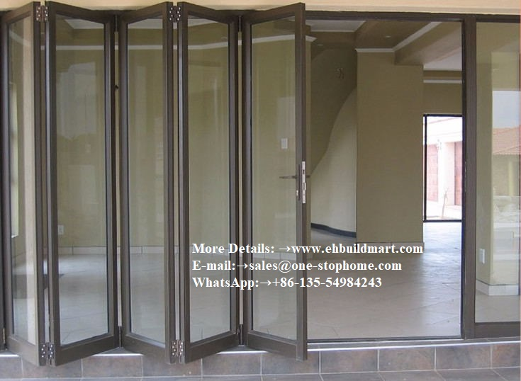 Door Unique,Top Quality Aluminum Sliding Folding Glass Doors With Grilled Design,Australian Standard Aluminium Bathroom
